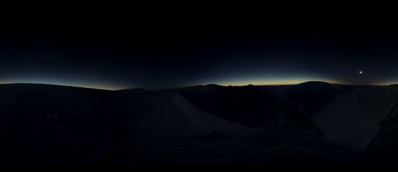 极地日全食VR全景视频