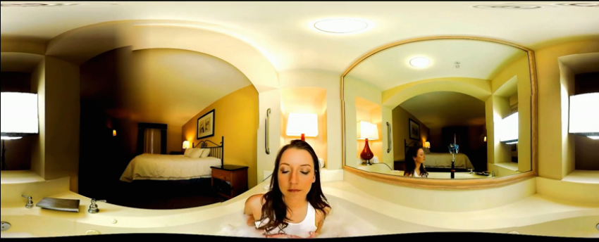 美女湿身诱惑VR视频