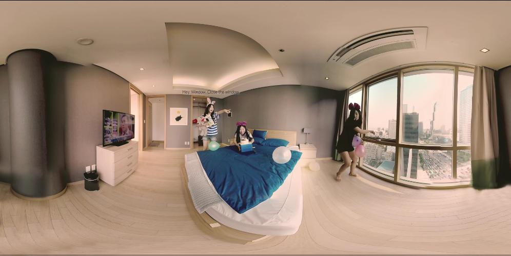 带你走进VR美女的身边,还是兔耳朵噢
