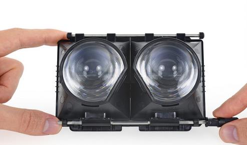 HTC首款VR做工怎样,看HTC,VIVE拆解详情