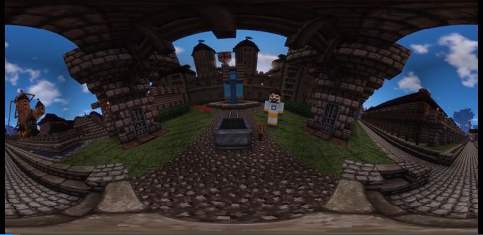 《我的世界》VR视频