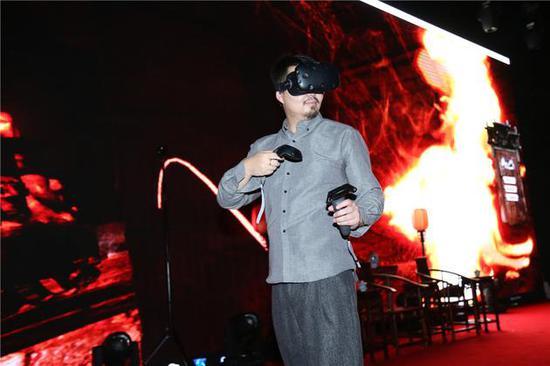 《老九门》上海电视节独领风骚 开启VR技术年