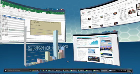 Windows版EnvelopVR开放公测,体验无限虚拟桌面