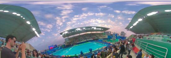 全新视角ZMER完美收官VR全景巴西奥运直播
