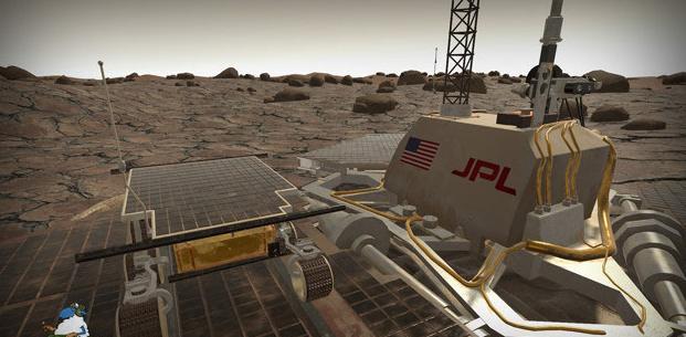 VR游戏《火星探测器》助圆梦