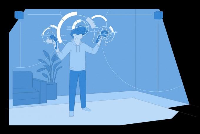 下一代HTCVive将配有新传感器