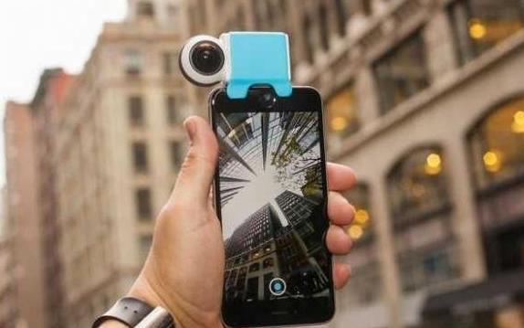 一款最新的iPhone兼容io 360度摄像头