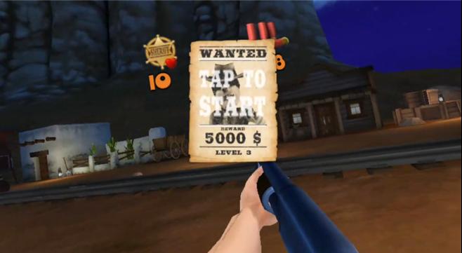 《警长VR》评测:西部荒漠大激战 击败匪徒保卫城镇