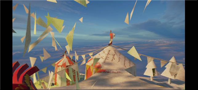 《何以翱翔》评测:骑乘凤凰恢复支离破碎的折纸世界