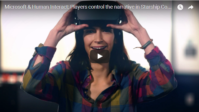 VR游戏《星舰指挥官》加入声控系统