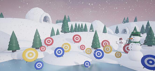 《冰雪游戏VR》太过单调!