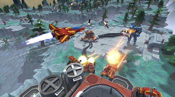 《机甲战机》将支持Vive及Touch