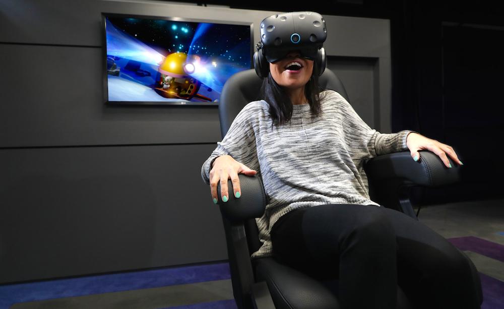 IMAX推出高科技VR中心