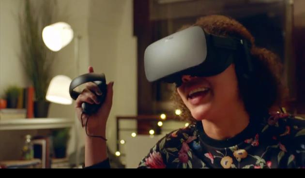 Facebook推出VR社交平台:化身卡通形象和好友交流