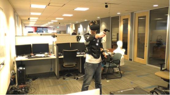 Sairento VR将Hardlight VR功能集成快节奏战斗