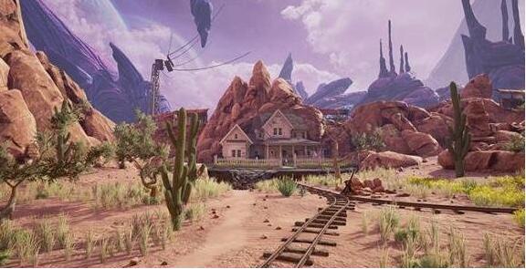 VR游戏《神秘岛》的精神续作《仰冲异界(Obduction)》