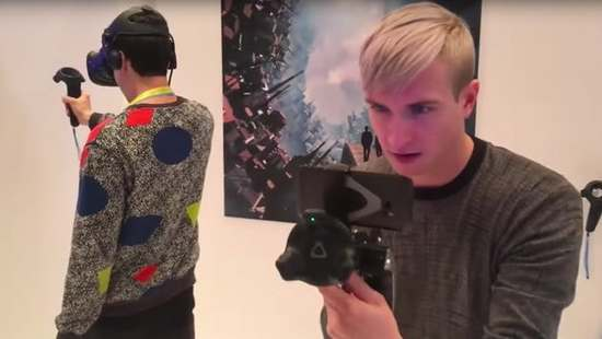 HTC Vive推动移动VR房间追踪技术发展