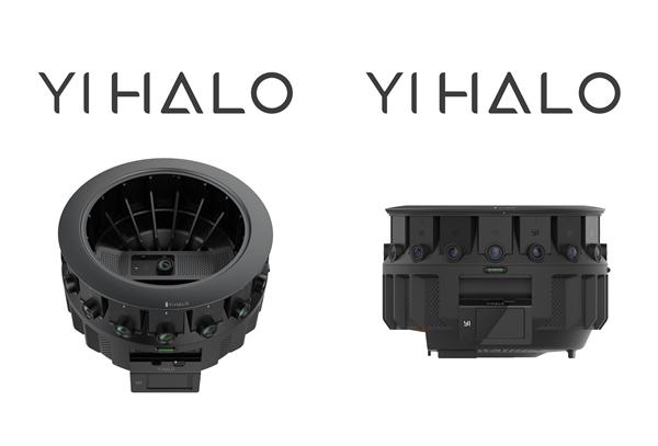 小蚁发布360度VR摄录仪YI HALO:最高8K 30帧