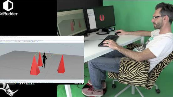 3DRudder脚踏式鼠标,解放双手
