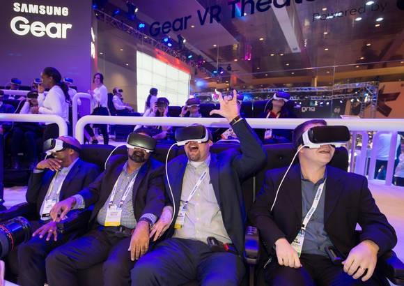 传三星正研发配备2000ppi超高清显示屏的VR眼镜