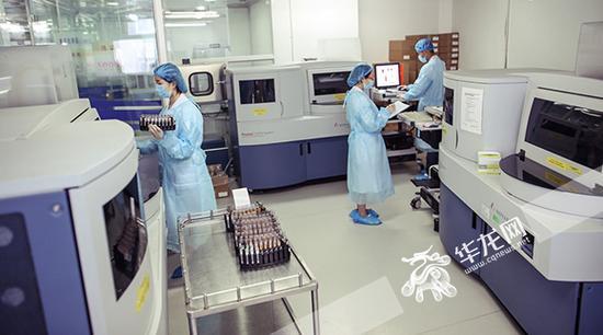 华龙网VR|血液如何存放? 带你全景揭秘重庆市血液中心