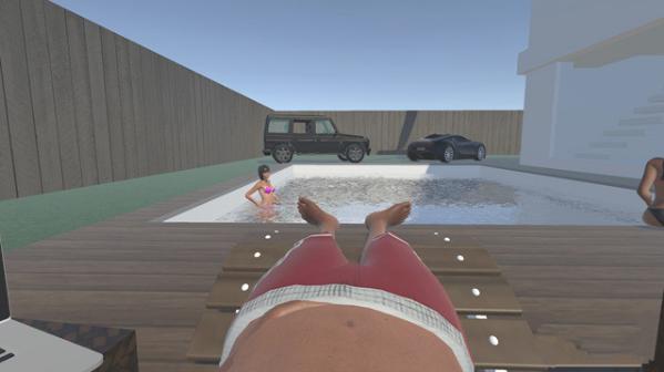 一款奇葩VR新游《有钱人生活模拟器VR》让你在VR中当一回土豪