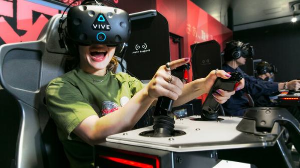 新宿地区举办的VR乐园就为用户提供了别样的VR体验