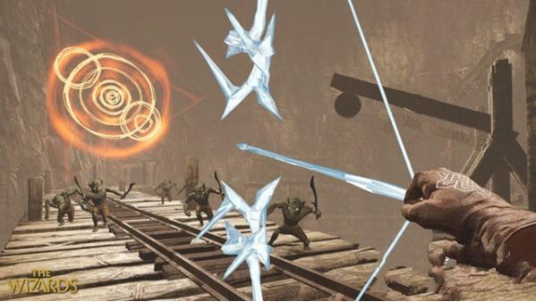 《无界术士》采用虚幻4引擎开发、专为体感控制器量身打造的VR魔法冒险游戏