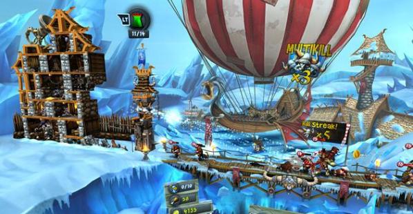 《城堡风暴》将RTS、塔防和 RPG 游戏机制融合在一起
