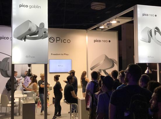 "Gamescom迎Pico""小怪兽""欧洲首秀,多款3DOF游戏同步上线"