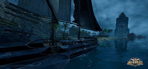 鹰击长空《海洋传说》帝国之影-夜鸢号战舰