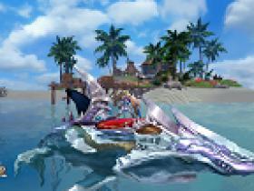 《海洋传说》海上冲浪--精美水上坐骑赏析